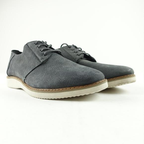 6245903df2e TOMS Men Grey Nubuck Preston Dress Shoes R12S1